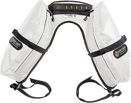Amazon.com: Gigante Loop – mojavi Saddlebag, Blanco, talla ...