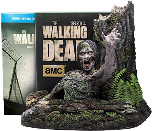 The Walking Dead (Complete Season 4) - 5-Disc Box Set & Tree Walker Figure ( The Walking Dead - Complete Season Four ) (Blu-Ray & DVD Combo) [ NON-USA FORMAT, Blu-Ray, Reg.B Import - Spain ]