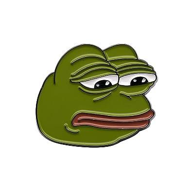 Gudeke Internet Memes Sad Pepe Frog Lapel Pin
