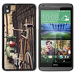 Rusty Bicycle Durable High Quality HTC Desire 816 Phone Case