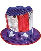 Sequin US Hat