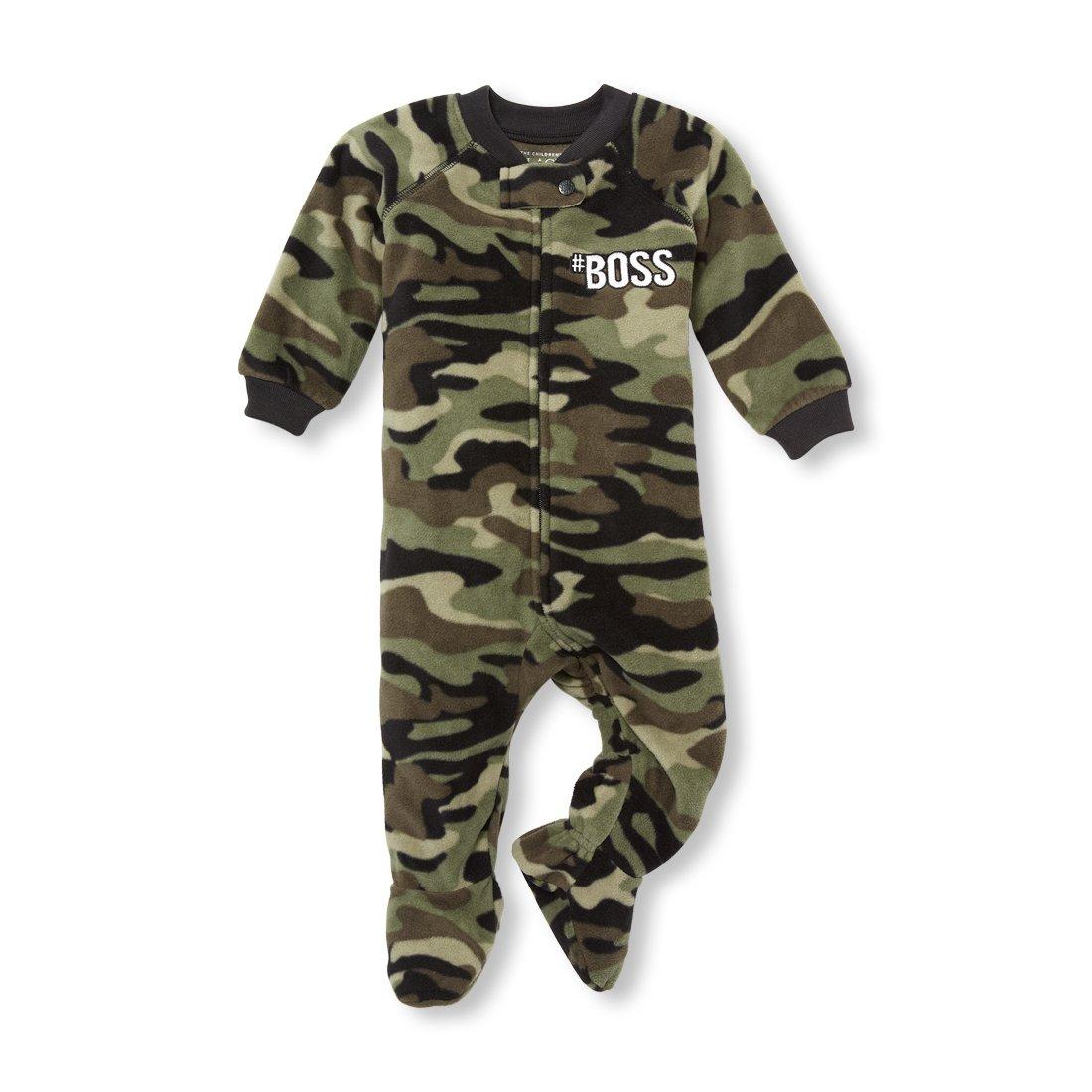 The Childrens Place Baby-Boys Zip Blanket Sleeper Sleepers