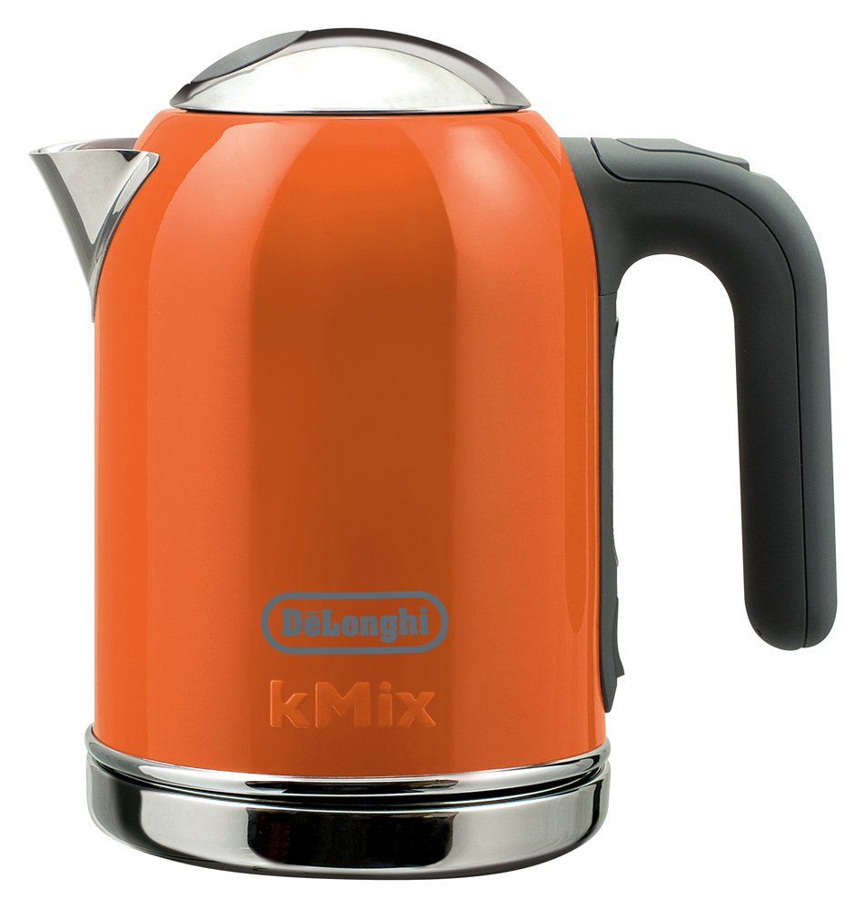 DeLonghi kmix boutique kettle electric 0.75L (Orange) SJM010J-OR