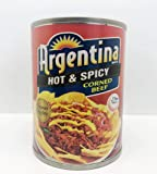 Argentina Corned Beef Hot & Spicy, 260 gm