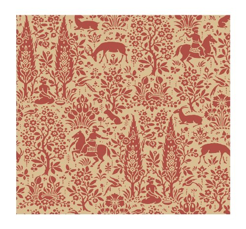 Floral Toile Wallpaper - 9