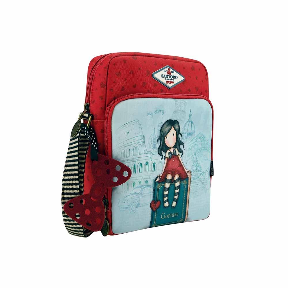 Gorjuss Cityscape My Story Rectangular Shoulder Bag