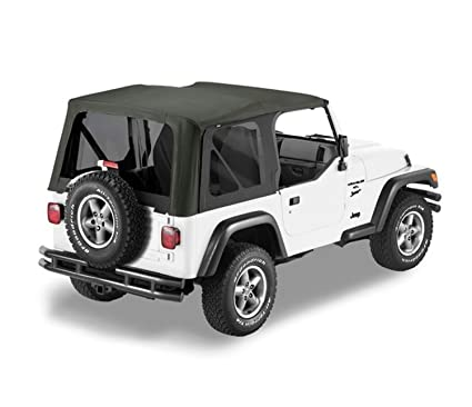 Amazon Com Bestop 79139 01 Black Sailcloth Replace A Top Soft Top
