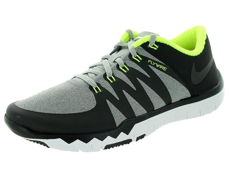 factory price 87184 91772 ... best price amazon nike mens free trainer 5.0 v6 flt silver black volt  training shoe 10.5