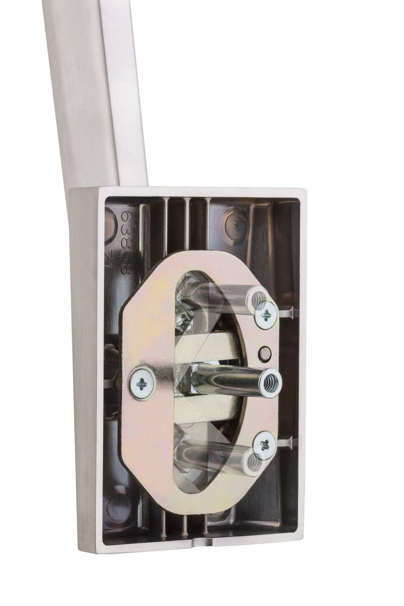 Kwikset 815SCEHFL-15 San Clemente Trim Handleset Satin Nickel