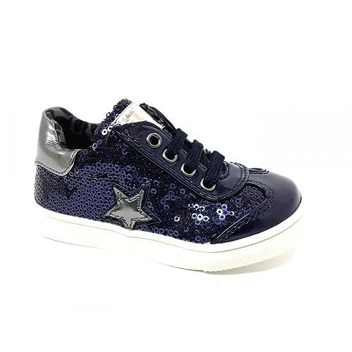 Sneakers blu per bambina Asso uy9YBAhy