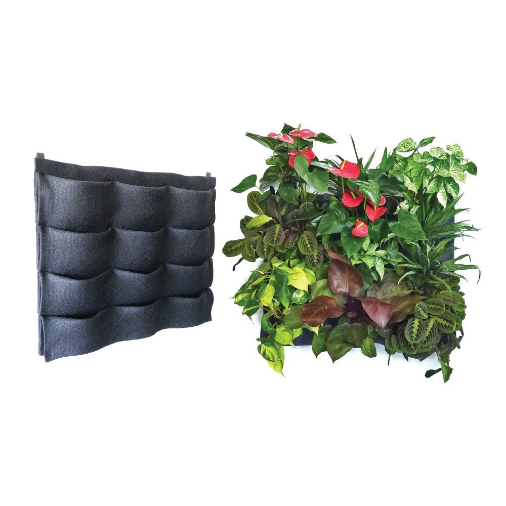 Amazon.com: Florafelt 12 Pocket Vertical Garden Planter: Garden U0026 Outdoor