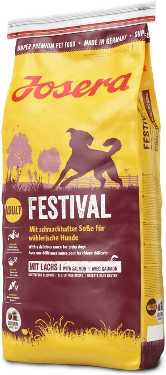 JOSERA Saco de comida para Perro - Festival, 15 kg, Perro