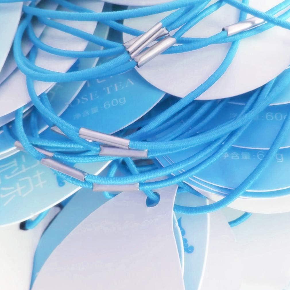 Bricolaje Hawiton Banda de Cord/ón El/ástico Cord/ón Earloop Cuerda de Cuerda El/ástica para Coser Pretina Pu/ños Manualidades