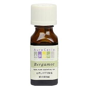 Aura Cacia Essential Oil, Uplifting Bergamot