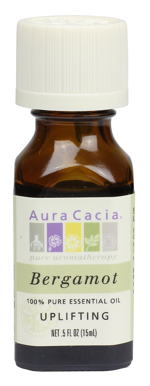 Aura Cacia Essential Oil, Uplifting Bergamot, 0.5 fluid ounce