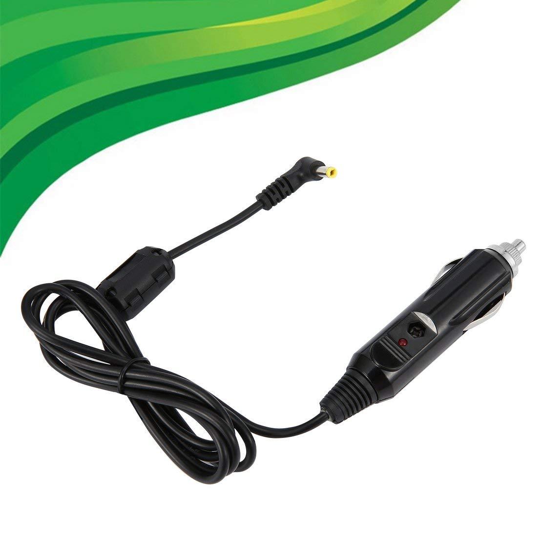 Chargeur Allume-Cigare Automatique Noir Adaptateur CC pour Voiture Neuve UpBright pour Chargeur Yaesu VX-6R VX-5R HX-471 FT-60R