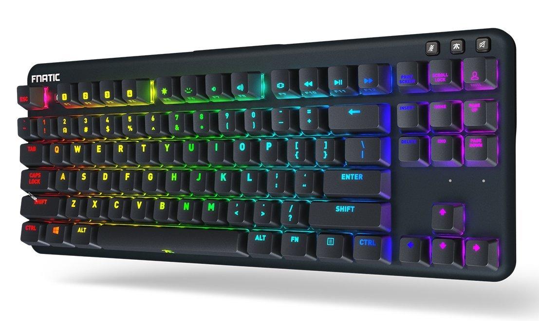 teclado mecanico Fnatic miniSTREAK RGB