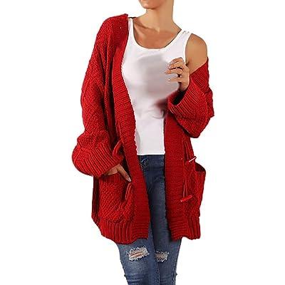 Chaqueta Mujer Otoño Elegante Sudadera Abrigos InviernoModa Mujer SuéTer Blusa CáRdigan Blusa De Manga Larga Abrigo Suelto Outerwear: Ropa y accesorios