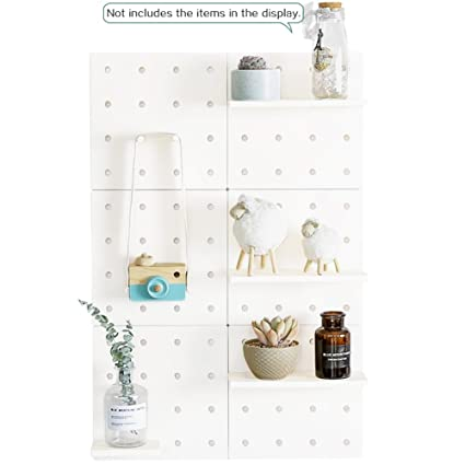 finest selection 70ff5 445a1 Amazon.com: Creation Core Self Adhesive Pegboard with 12 ...