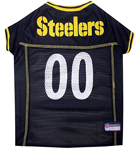picture of Pets First Pittsburgh Steelers Mesh Jersey, X-Large