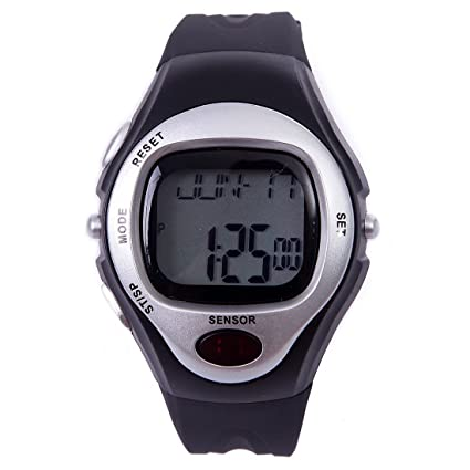 amazon com sodial r fitness sports pulse watch with heart rate
