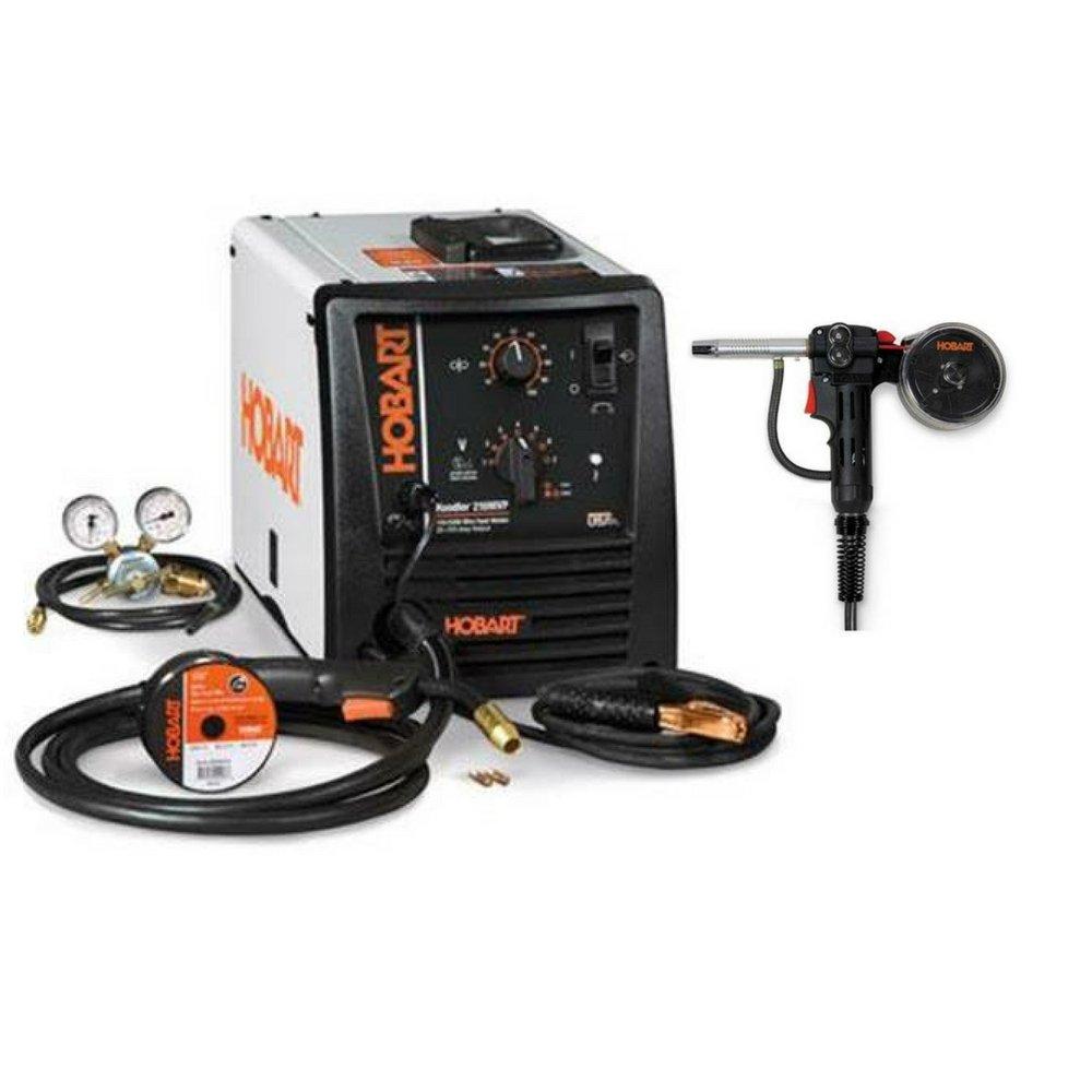 Hobart Handler Wire Welder (210MVP MIG Welder with Spoolgun ...