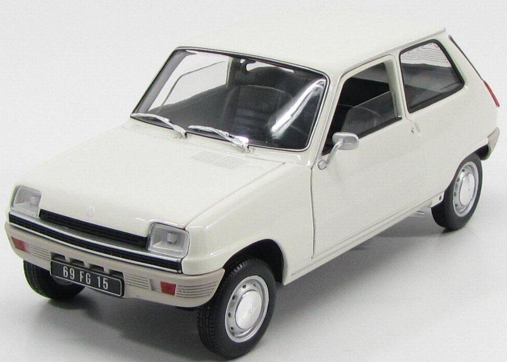 1972 Renault 5 TL [Norev 180011], Blanco, 1:18 Die Cast: Amazon.es: Juguetes y juegos
