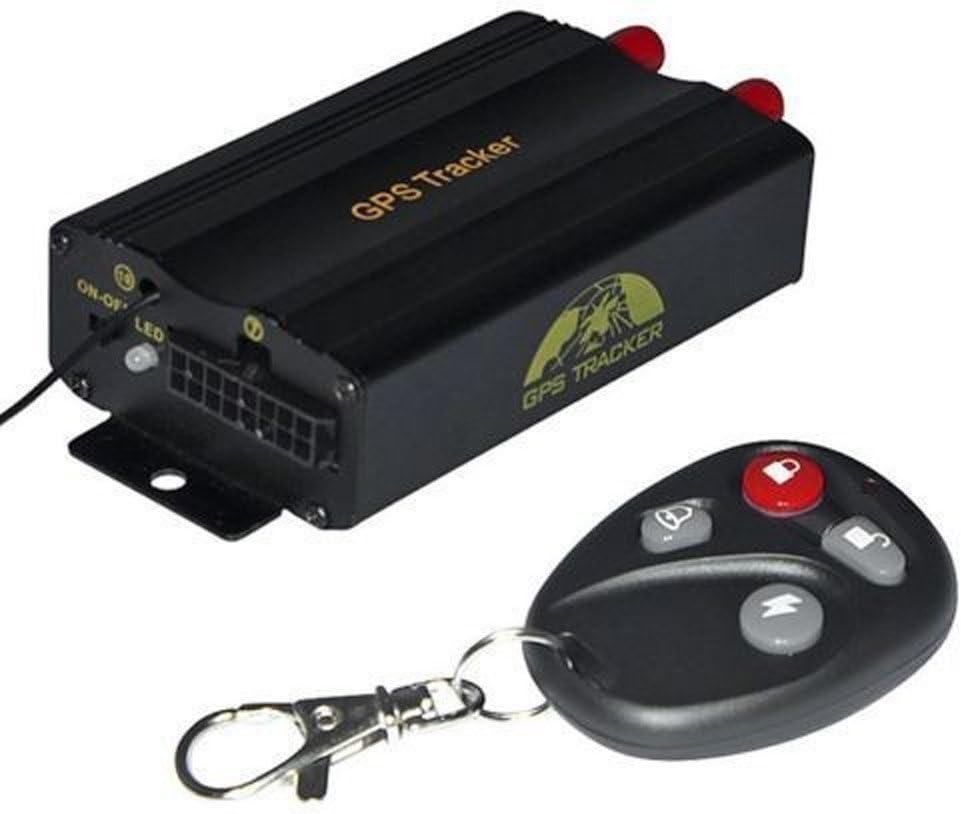 Hangang GPS Tracker GPRS GPS localizador satelital antirrobo monitorización posicionamiento Alarma de Emergencia en Tiempo Real para Coches vehículo X