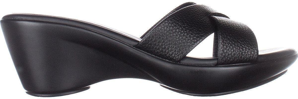 Callisto Dimple Platform Wedge Sandals Shoes