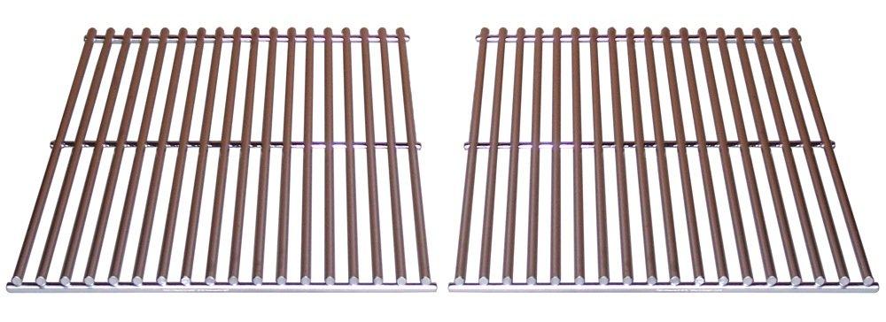 Music City Metals 537s2 Edelstahl Draht Grillrost Ersatz für Select Gas Grill Modelle von Centro, Charmglow und andere, Set von 2