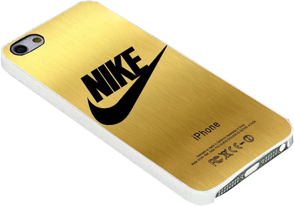 NIKE GOLD for iPhone Case (iPhone 5c White): Amazon.ca: Cell ...
