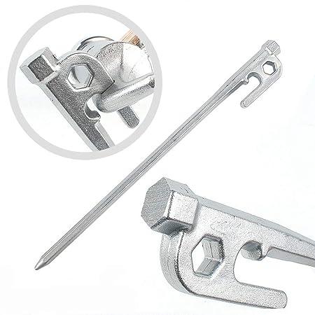 Seilwerk STANKE 50 x Abrazadera de Cuerda Tama/ño 14 para Cuerdas de Acero 14 mm Galvanizada Conector de Cuerdas Cuerda de Acero