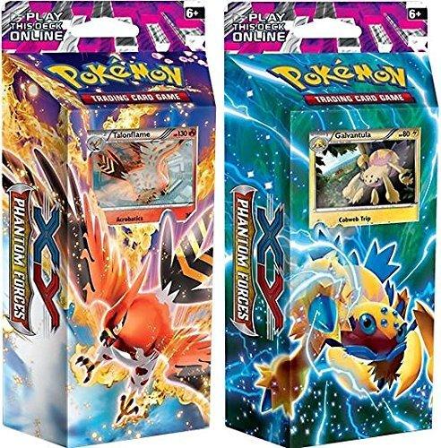Pokemon TCG Phantom Forces - Theme Decks: Burning Winds & Bolt Twister