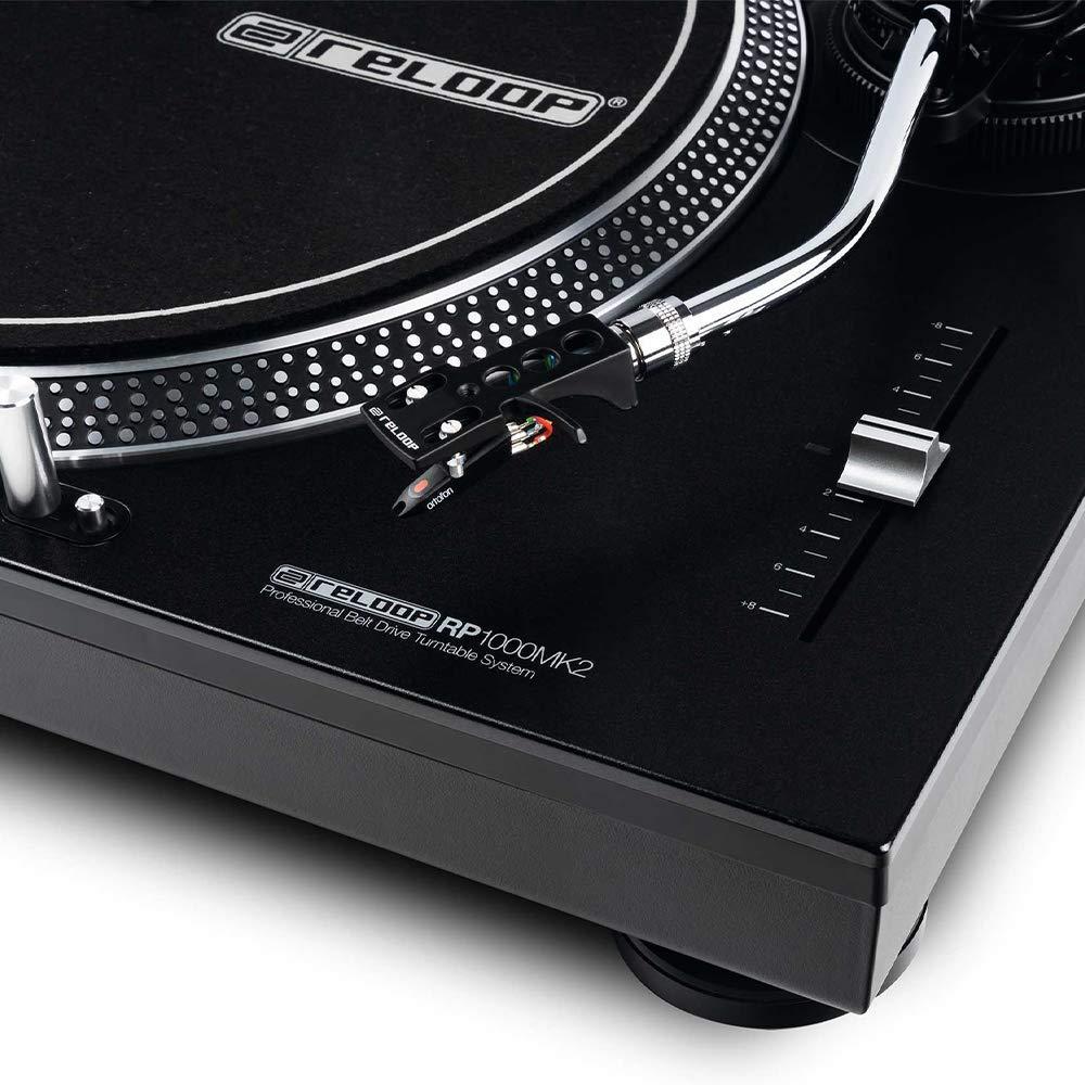 2 x Reloop RP-1000MK2 DJ correa giratoria en forma de S ...