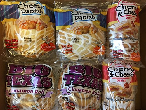 Rolls Cinnamon Sweet (Cloverhill Ultimate Danish Variety Pack)