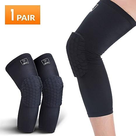 ginocchiere basket  Ginocchiere basket, compressione Leg maniche: : Sport e ...