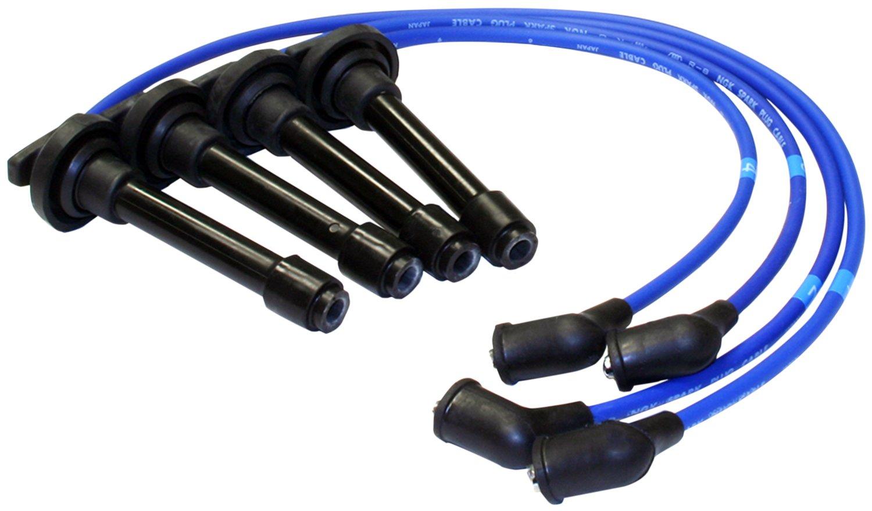 Ngk 9988 He53 Premium Spark Plug Wire Set Automotive 4 O2 Sensor Diagram Crx