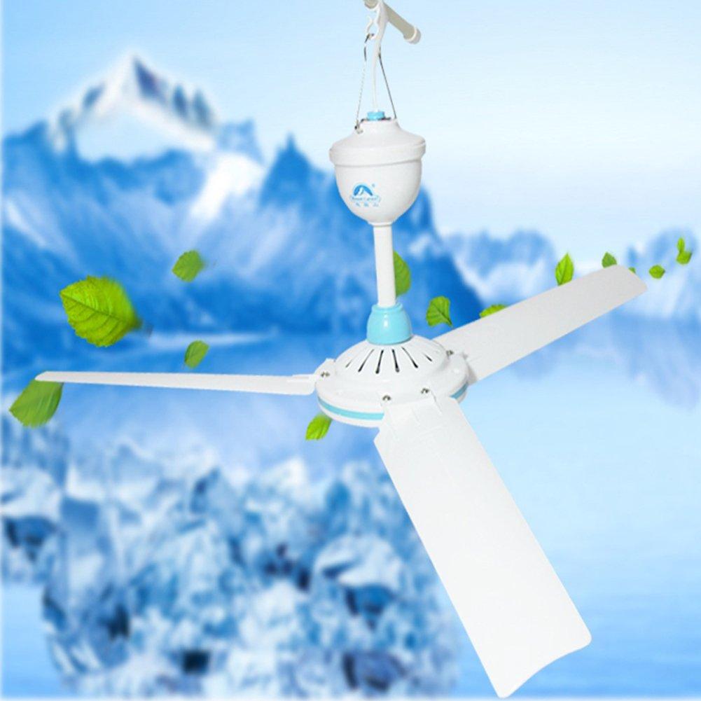 elegantstunning DC 12V Niederspannung Decken h/ängender Ventilator Haushalt kampierender elektrischer Ventilator
