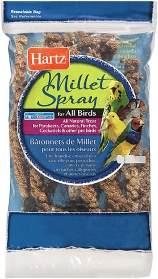 Hartz 97604 Millet Spray 7 Count