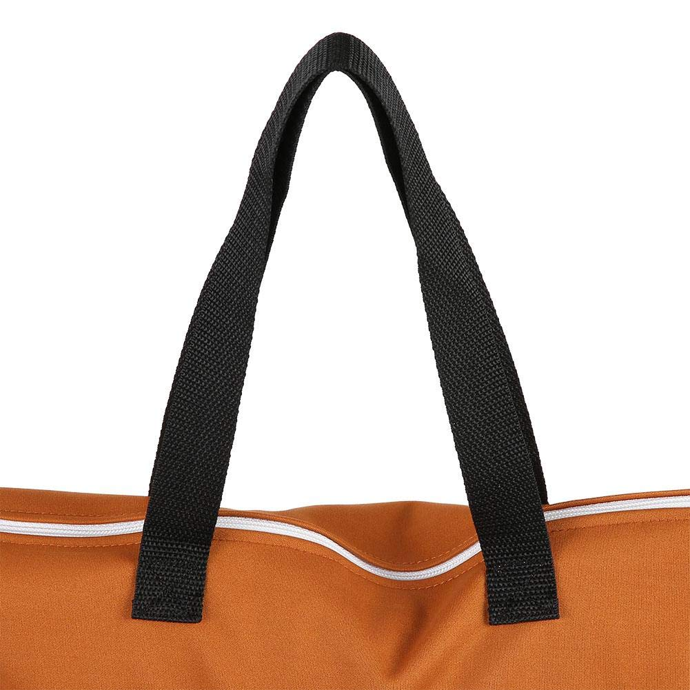 Fdit Large hanging wet//dry bucket bag for cloth nappy inserts nappy laundry with two waterproof zippers reusable