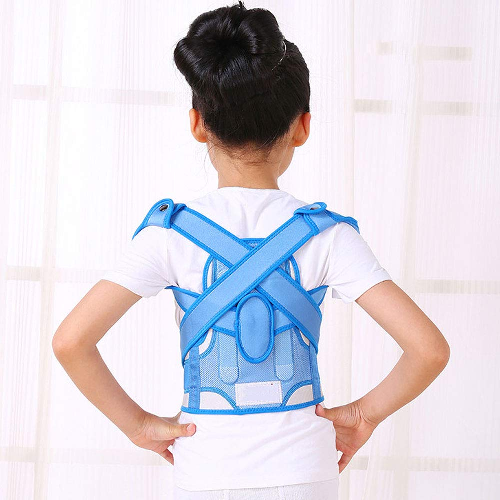MLX Anti-Humpback Correction Belt, Child Student Spine Correction to Correct Hunchback Sitting Back Straight Back Anti-Humpback Correction Belt (Size : L (Waistline:69-79cm)) by MLXBBJ (Image #7)