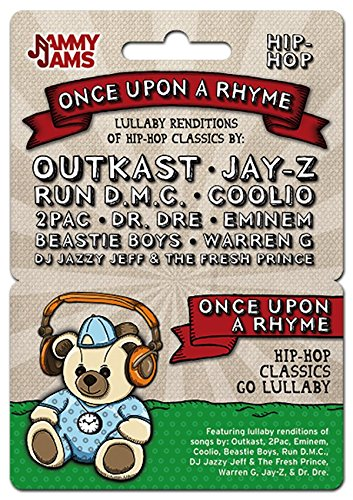 Music Download Card - Jammy Jams - Once Upon A Rhyme: Lullaby Renditions of Hip-Hop Classics - Download Card