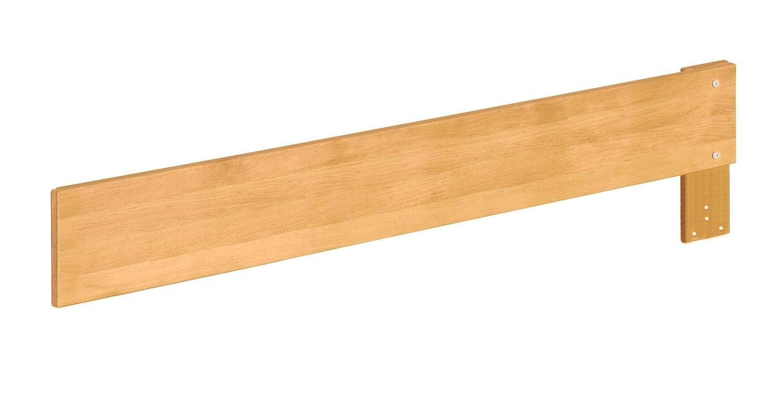 Biokinder Bett Ausfallschutz lang für Lina Kojenbett Schlafsofa aus Massivholz Erle 130 x 18 cm