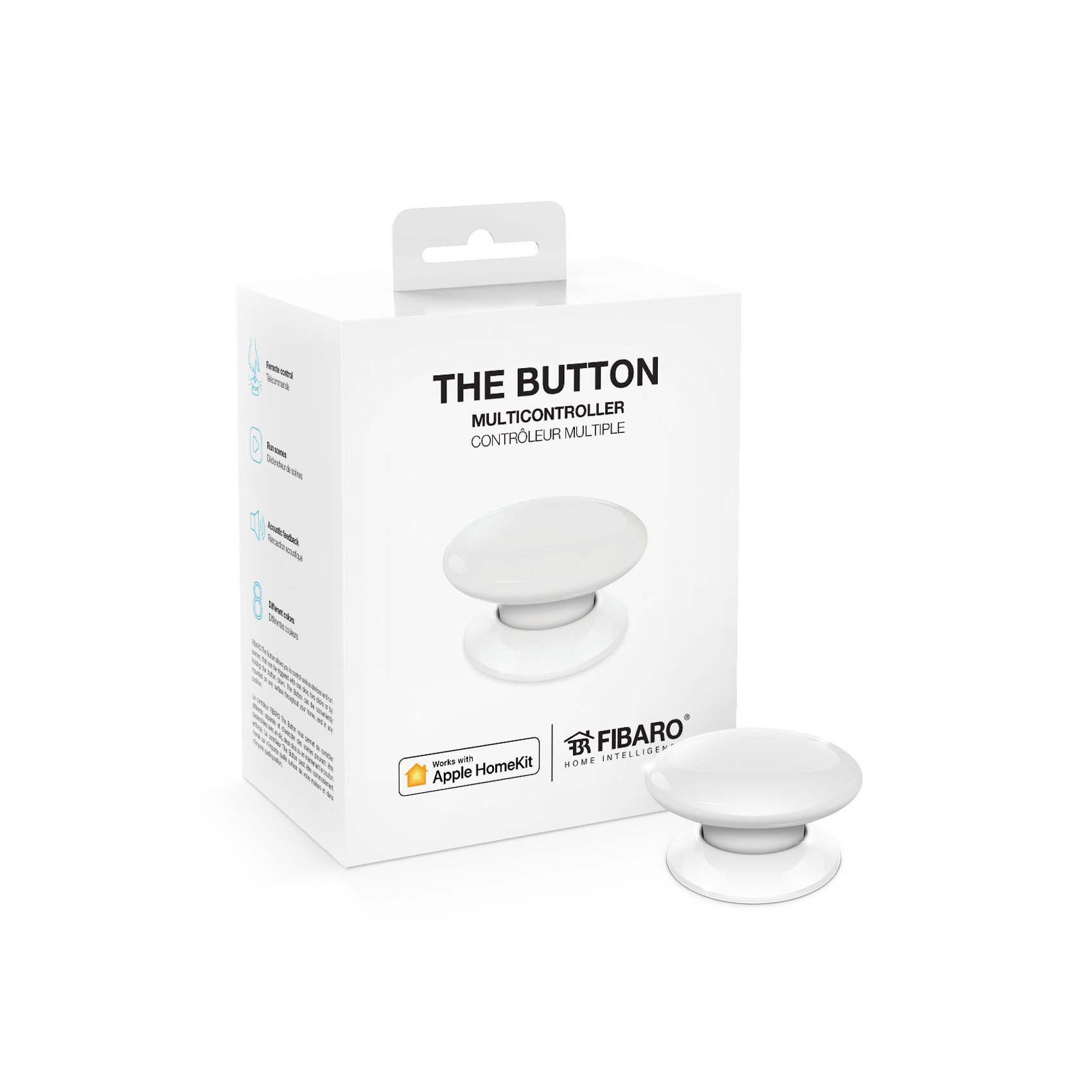 Fibaro FGBHPB-101(1) Multi-Controller Button, Homekit Enabled