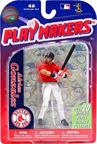 - MLB Boston Red Sox McFarlane 2012 Playmakers Series 3 Adrian Gonzalez Action Figure