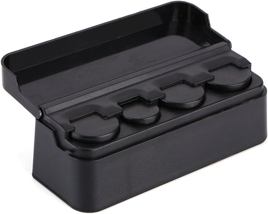 Yosoo Health Gear Car Coin Holder Coin Storage Box for Car Portable Car Coin Organizer Truck and Van