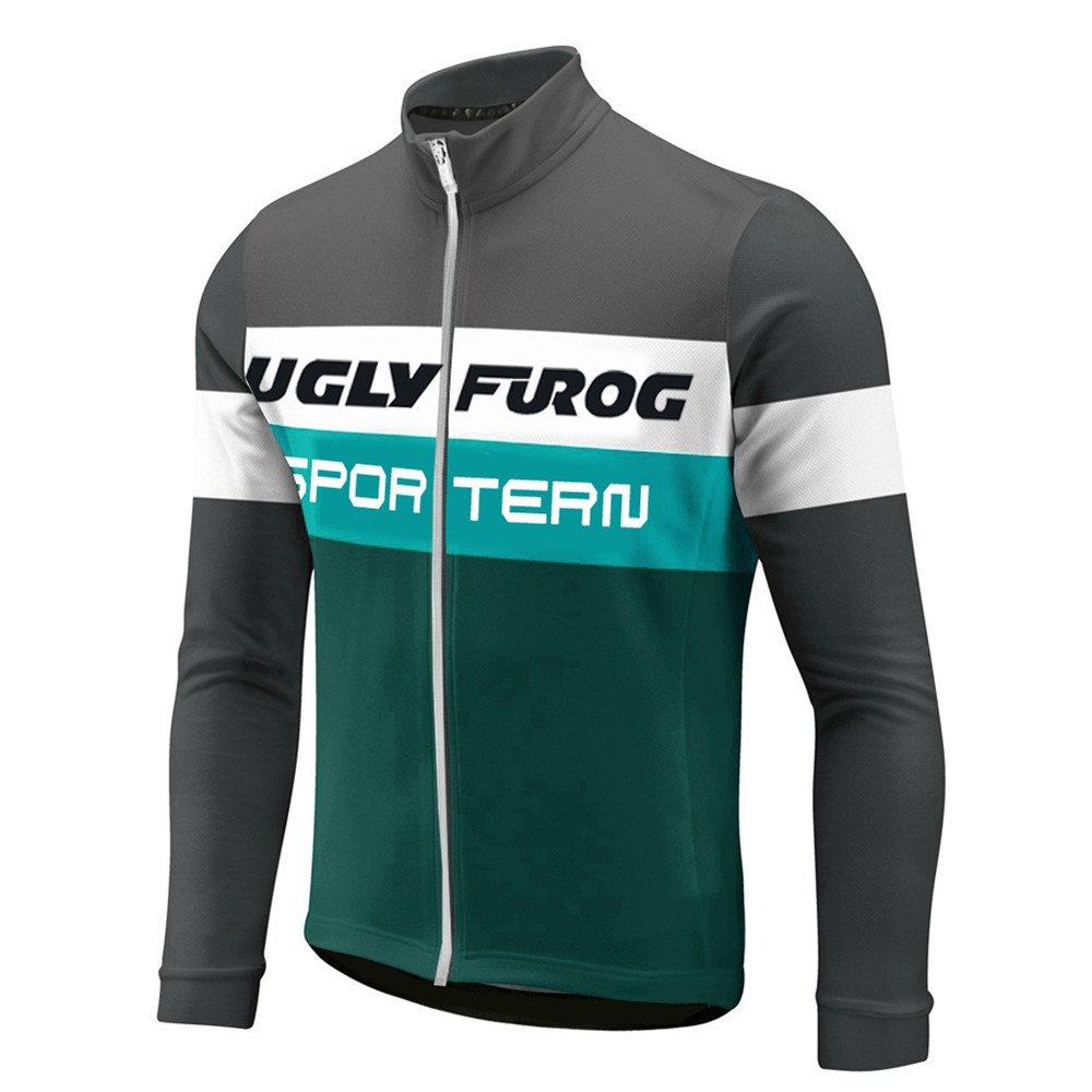 Uglyfrog HSCX03 2018 Frühling Herbst Fahrradtrikot Langarm Shirt Herren Breathable Radfahren Fahrrad Lange Hülsen Jersey Fahrrad Hemd Männer Langarm Fahrradbekleidung Radfahren