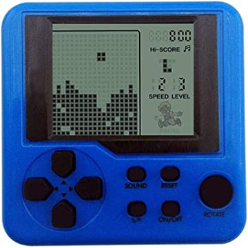Sooseder New Children Tetris Handheld Game Console Portable Mini Game Handheld Toys Handheld Games