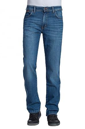 Wrangler Texas Stretch Black Pantalones para Hombre