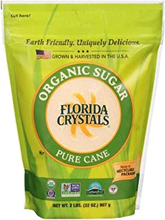 product image for Florida Crystals Natural Sugar, Cane, 2-Pound Bag (Pack of 6)